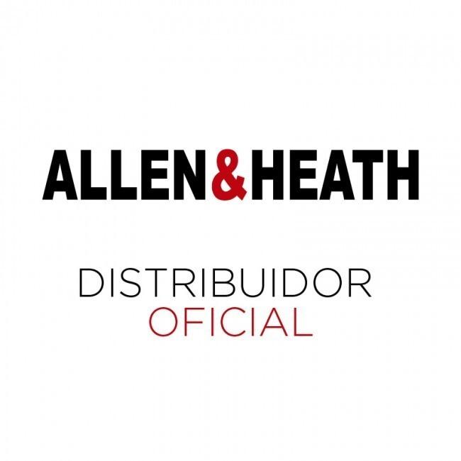 Allen & Heath SQ-6 | Consola Digital De 48 Canales 36 Buses y 25 Faders