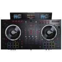 Numark NS7III   Controlador de DJ Motorizado de 4 Canales y Mezclador con Pantallas