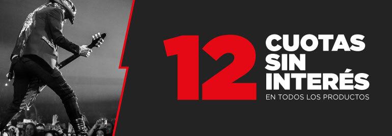 ¡12 PAGOS SIN INTERÉS!