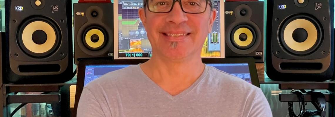 El ganador de GRAMMY e ingeniero de Mezclas, Javier Garza, elige KRK