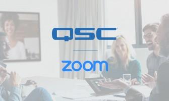 QSC ofrece soluciones de salas de reuniones para Zoom Rooms