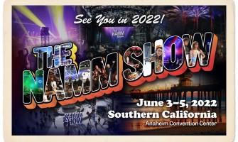 El NAMM Show 2022 se celebrará en junio