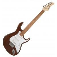 CORT G100-OPW   Guitarra Eléctrica Open Pore Walnut