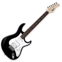 CORT G110-BK   Guitarra Electrica Negra con Funda