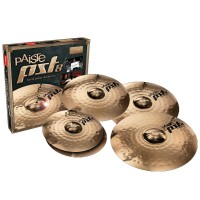 "PAISTE PST8 UNIVERSAL SET | Set de Platillos de 14""Hi-Hat, 16""Crash, 18""Medium Crash y 20""Medium Ride"