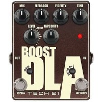 TECH 21 140406 | Pedal Emulador de Retardo Analógico con Clean Boost