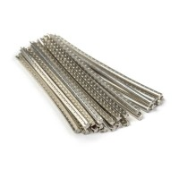 DUNLOP 180125 | Trastes Cortados para Guitara por 24 Unidades