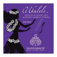 HANNABACH 230MT | Cuerdas para Ukelele Soprano Hawaii Medium Tension Azul