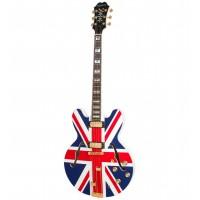 EPIPHONE 250128090-AW | Guitarra Eléctrica Sheraton Union Jack