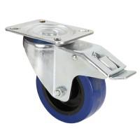 Adam Hall 372191 | Rueda giratoria para anvil o baúl de 100mm con freno