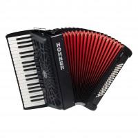 HOHNER A1642 | Acordeón Bravo III 80 Bass Piano Negro