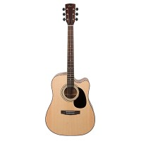CORT AD880CE-NAT | Guitarra Electroacústica Natural con Funda