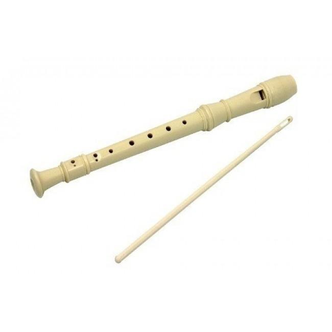 HOHNER B9318S   Flauta Dulce Soprano 3 Cuerpos con Varilla