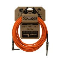 ORANGE CA037 | Cable Angular de Instrumentos de 6 Mts