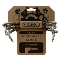 ORANGE CA038 | Pack de 3 Cables Pedal