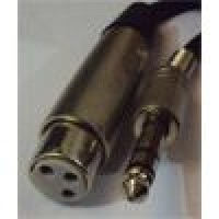 Lion Support CA623M | Cable Canon Hembra Plug