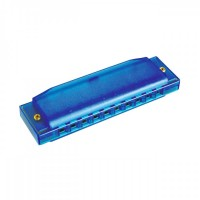 HOHNER CCH48S   Armónica de Blues Azul Translucido