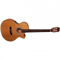 CORT CEC1-OP   Guitarra Clásica Electrica Open Pore