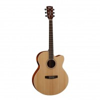 CORT CJ1F-NS | Guitarra Electroacústica Natural Satin