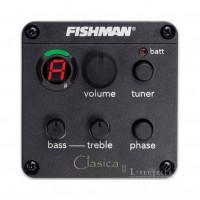 FISHMAN CLA-101 | Ecualizador para Guitarra Clásica, 2 Bandas + Afinador