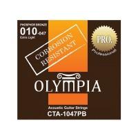 OLYMPIA CTA1047PB   Cuerdas para Guitarra Acústica Calibres 10-47