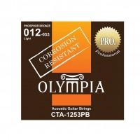 OLYMPIA CTA1253PB | Set De Cuerdas Para Guitarra Acústica 12-53