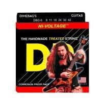 DR Strings DBG-9 | Cuerdas Para Guitarra Electrica Hi-Voltage Dimebag Darrell