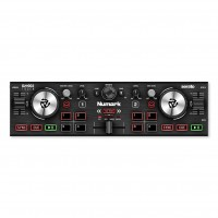 NUMARK DJ2GO2TOUCH   Controlador de DJ de Bolsillo con Ruedas de Desplazamiento Táctiles Capacitivas