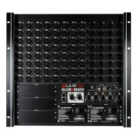 Allen & Heath DM64 | Rack de conexión DLIVE DM64.