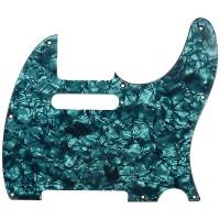 D ANDREA DPP-JB-AQP | Pickguard J-Bass para Guitarra Aqua Pearl