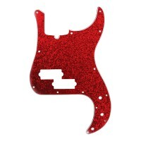 D ANDREA DPP-PB-RDS | Pickguard P-Bass para Guitarra Red Sparkle