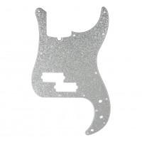 D ANDREA DPP-PB-SIS | Pickguard P-Bass para Guitarra Silver Sparkle