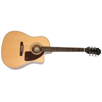 EPIPHONE EE21NACH1 | Guitarra Electroacústica AJ-210CE Outfit Natural