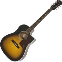 EPIPHONE EE21VSCH1 | Guitarra Electroacústica AJ-210CE Outfit Vintage Burst