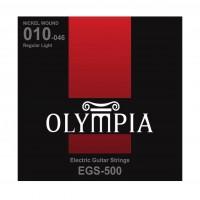 OLYMPIA EGS500 | Cuerdas para Guitarra Eléctrica Regular Light Calibres 10-46
