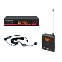 Sennheiser EW-152G3 |  Set de Micrófono de Diadema para Cantantes, Oradores y Presentadores