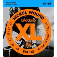 DADDARIO EXL110   Cuerdas para Guitarra Electrica Calibres 10-46