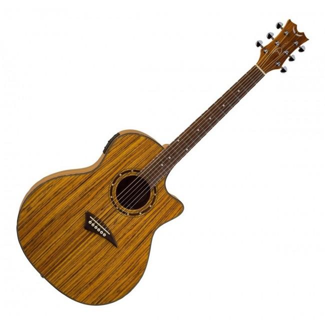 DEAN EZEBRA   Guitarra Acústica Exótica Zebrawood