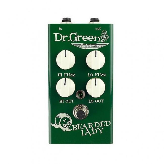 DR GREEN FS-DRG-BL | Pedal Green Bearded Lady Fuzz