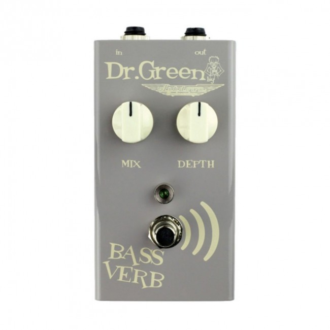 DR GREEN FS-DRG-BV   Pedal Reverb Bass Verb