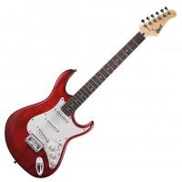 CORT G100-OPBC   Guitarra Electrica Open Pore Black Cherry