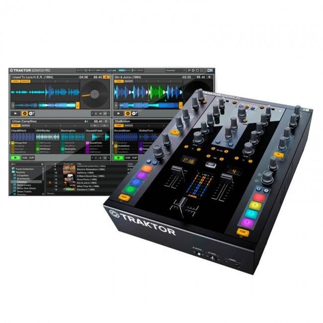 Native Instruments KONTROLZ2 | Mezclador Y Controlador DJ Traktor e Interfaz