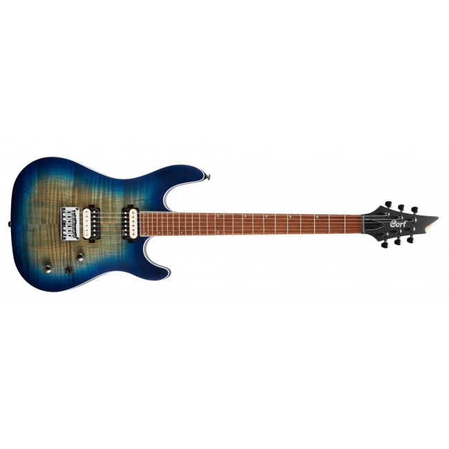 CORT KX300-OPCB | Guitarra Eléctrica Serie KX Open Pore Cobalt Burst