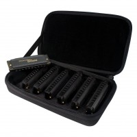 HOHNER M91107S   Kit de 7 Armonicas Diatonicas de 20 Voces en Tonos C, D, E, F, G, A, B