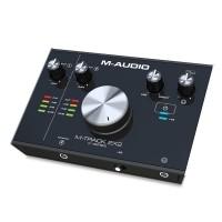 M-Audio MTRACK2X2 | Interfaz de Audio USB 2 Entradas / 2 Salidas