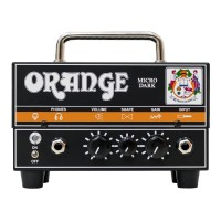 ORANGE OS-D-MD | Cabezal de Guitarra Micro Dark Hibrido 20 Watts