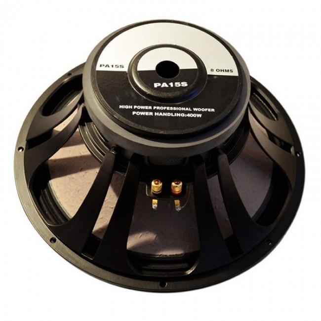 LEEA PA15S | Woofer de 15 pulgadas con campana de aluminio inyectado