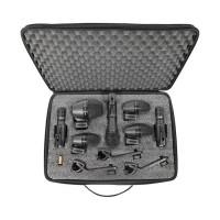 Shure PGADRUMKIT7 | Set de 7 Piezas de Micrófonos para Batería