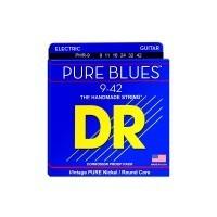 DR STRING PHR-9 | Cuerdas para guitarra Pure Blues Nickel Calibres 9-46