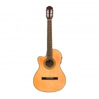 GRACIA PRO6EQFZ | Guitarra Clásica M6 con EQ Fishman para Zurdos
